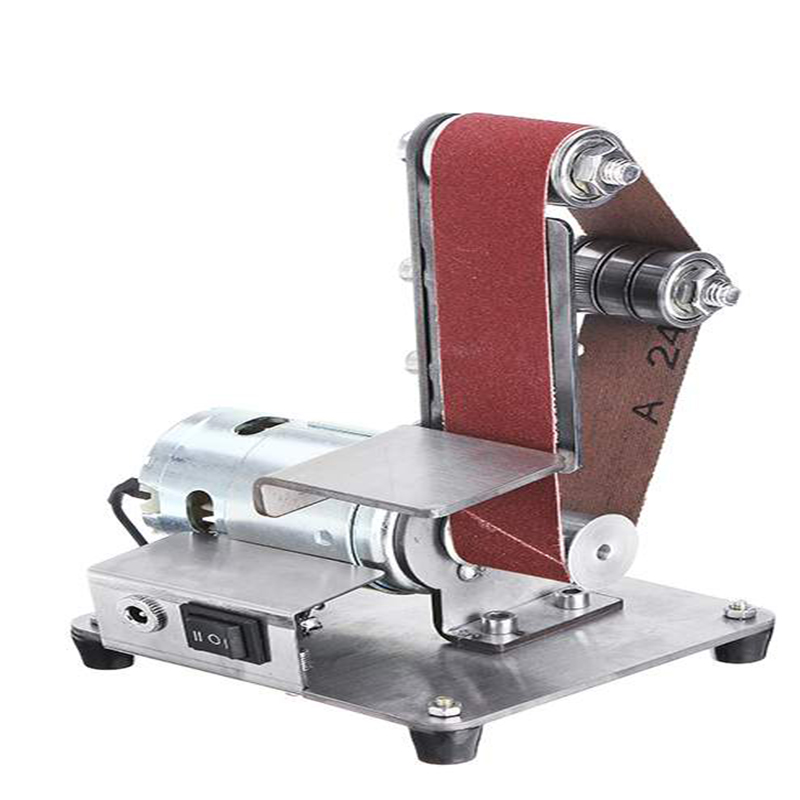 Mini Electric Belt Machine Sanding Grinding and Polishing Cutting DIY Table