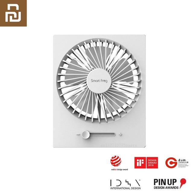 """Складной USB вентилятор Youpin Smartfrog с зарядкой, 4 """"портативный мини вентилятор, бесшумный сильный ветер для летнего тепла, для домашнего офиса"""