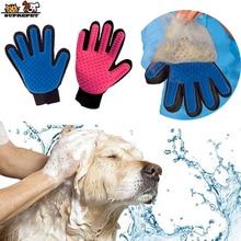 SUPREPET Pet Grooming Glove for Cats Cat Hackle Pet Deshedding Brush Glove Pet Hair Gloves