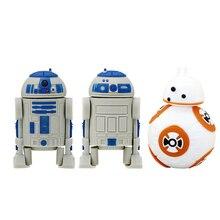 Pendrive Robots R2D2 Star-Wars Memoria-Stick Brave USB Usb-2.0 16GB Cle 8GB 4GB 32GB