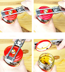Manual Opener Stainless Steel Practical Heavy Duty Classic Metal Steel Travel Camping Powerful Food Can Bottle Openers Kitchen