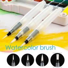 Ручка для рисования, нейлоновая ручка для рисования Калли, для цветной кисти, мягкая кисть, мягкие канцелярские принадлежности, пластиковая ручка для кисти