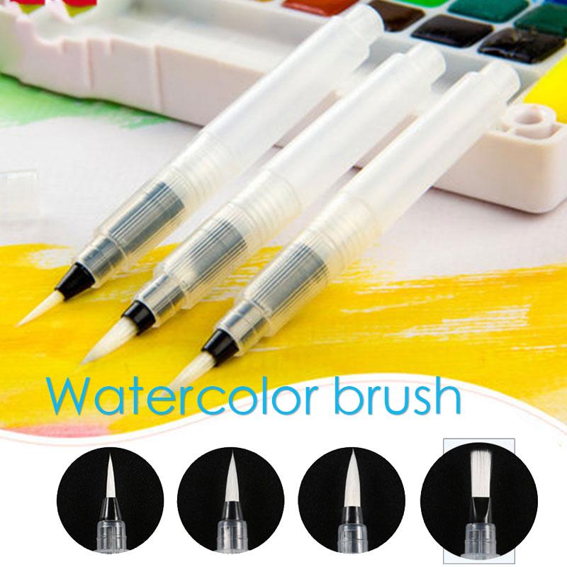 Painting Pen Nylon Drawing Calli Graphy Pen For Color Brush Soft Brush Soft Stationery Plasticpen Brushpen