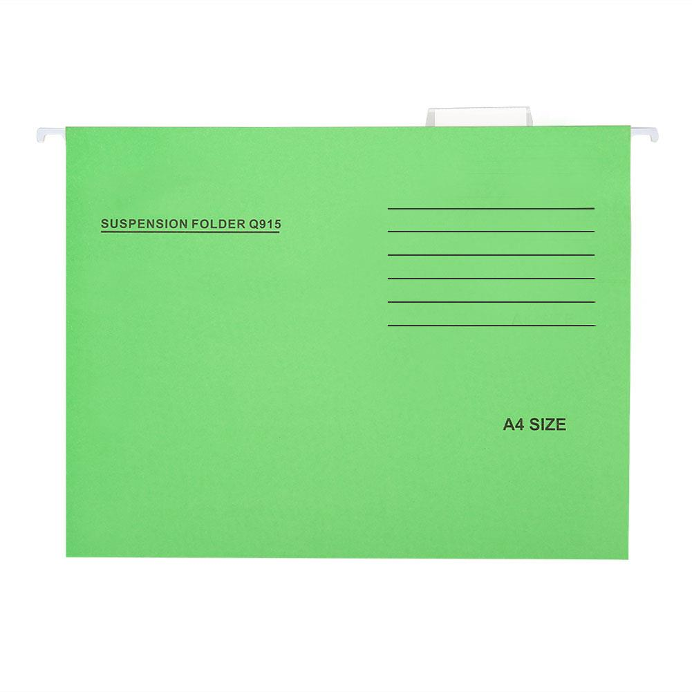 Hanging File Folders Ultra Thin Universal A4 Adjustable Business Student Hanging Document Folders Binding Letter