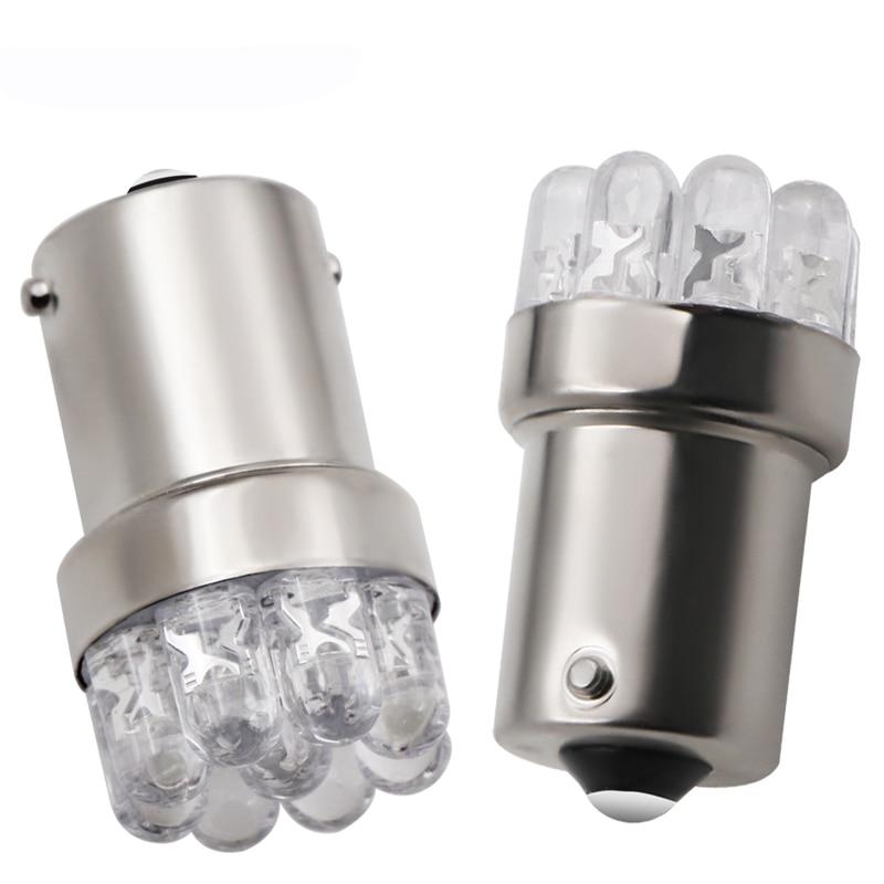 2pcs Car Light Bulb 1156 BA15S P21W S25 7506 R5W Car Leds Lights 9 LED 2835 SMD Rear Turn Signal Lamp Backup Light DC 12V
