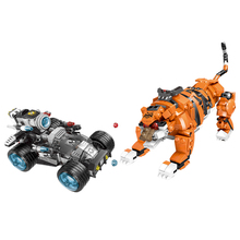 XINGBAO 10005 City Police Series Stop The Modification of The Tiger Set Scenes Building Blocks Bricks Kids Toys Christmas Gift