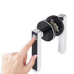 Dom inteligentny zamek do drzwi antykradzieżowa biometryczna elektroniczna blokada z czytnikiem linii papilarnych AXYF