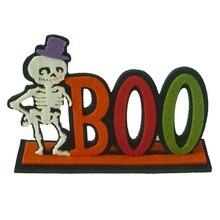 SPOOKY/BOO Felt Decorative Sign Halloween Letter Decorations
