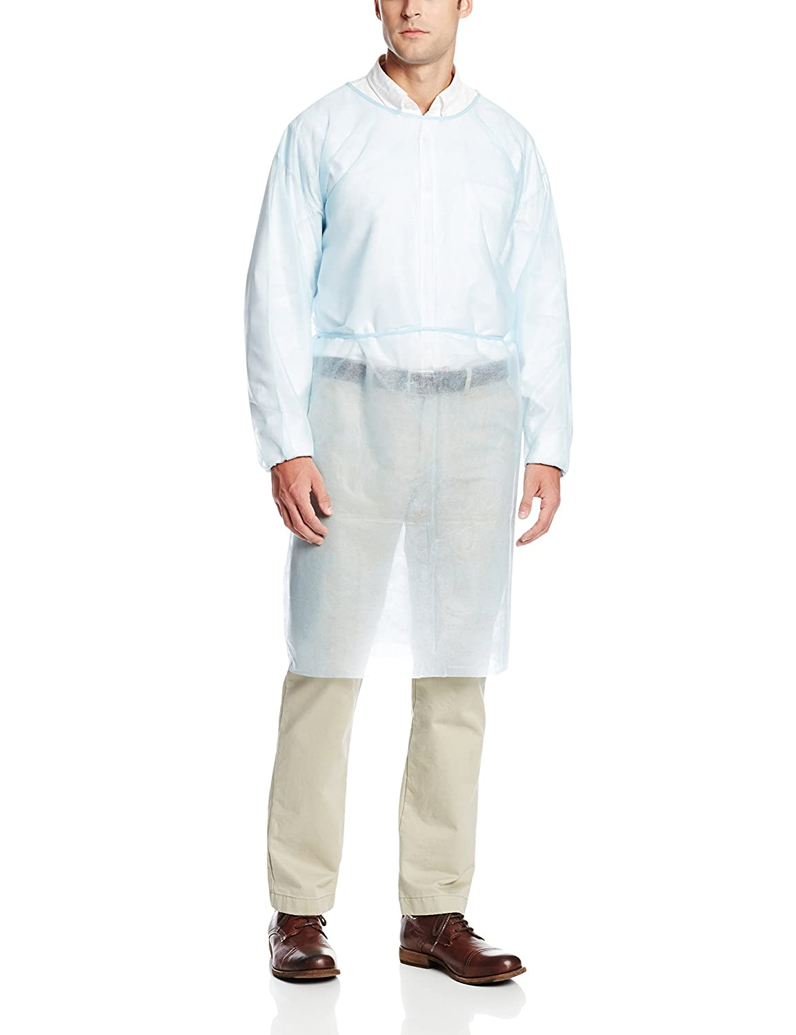 Protective Isolation Gown Clothing Overalls Isolation Suit Disposable Antistatic Dust Anti-virus Medical Splash Resistant