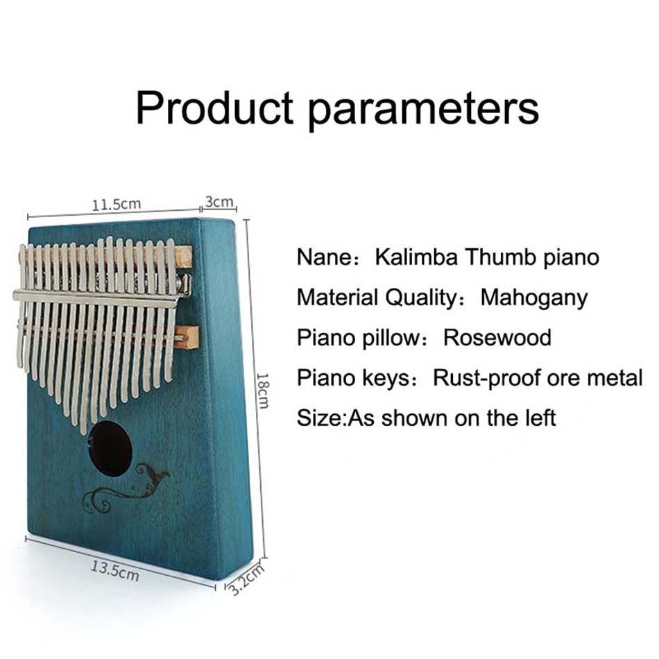 alta qualidade mbira corpo instrumentos musicais kalimba