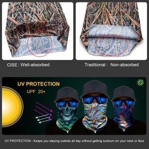 Image 4 - 3D גרב קסם צוואר פנים מסכת Ghost גולגולת טקטי סקי אופנוע רכיבה על אופניים Biker צעיף בנדנה Moto קסדת רירית