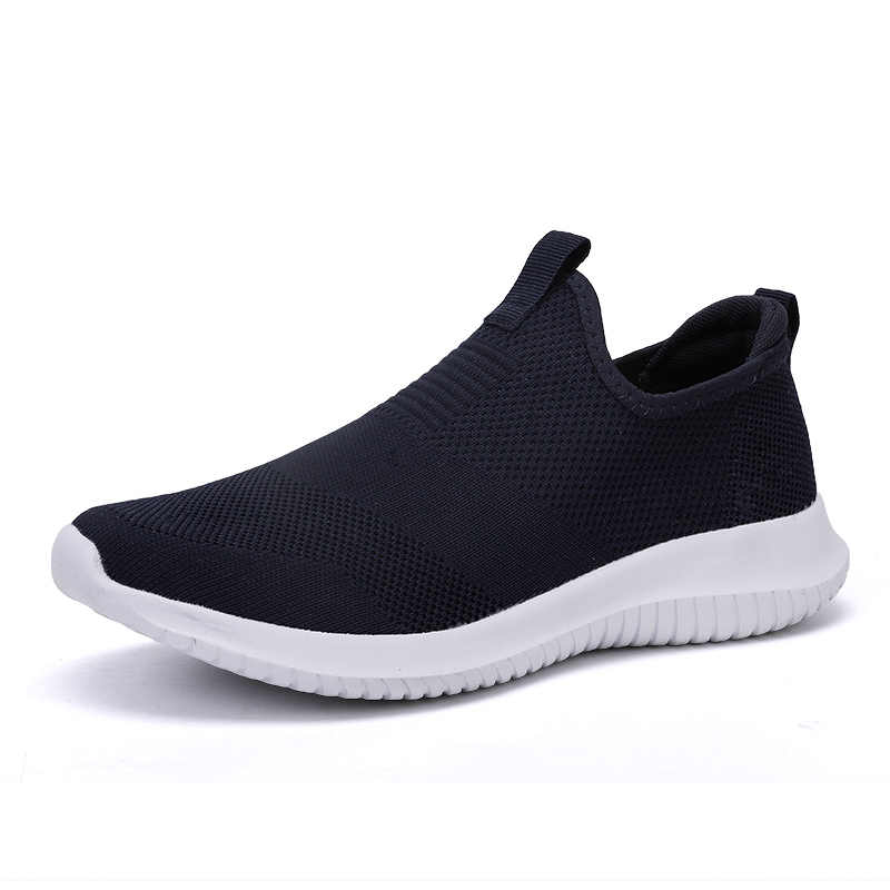 2019 Lente Mannen Schoenen Slip Op Mannen Casual Schoenen Lichtgewicht Comfortabele Ademend Paar Wandelen Sneakers Feminino Zapatos