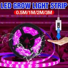 Usb 5 В светодиодный светильник для выращивания растений с полным