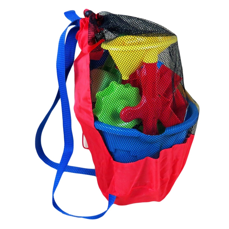 Outdoor Swimming Waterproof Bags Drawstring Pouch Beach Children Kids Shoulder Bag Sackpack Foldable Mesh Bag Swim Sportswear
