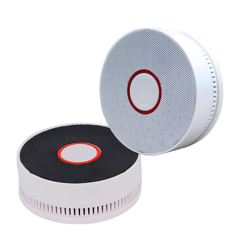 Wireless Photoelectric Fire Smoke Alarm Security Battery Independent Smoke Detector Smoke Alarm Fire Alarm