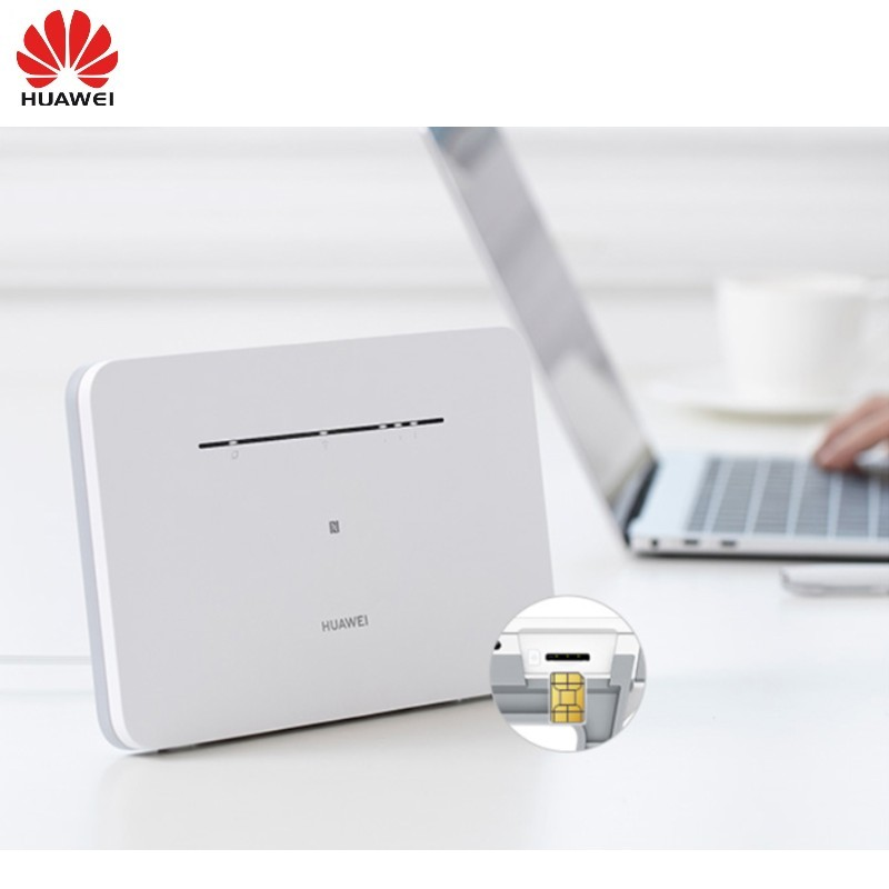 HUAWEI 4G Mobile Router B311B 853 NANO SIM Card Slot Fixed Line Cat 4  300Mbps Access Point NFC Wireless Router 3G Modems  - AliExpress
