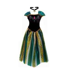 Elsa&Anna Birthday Fashion Ice Snow Queen Party Costume Cosplay Dress Adult Girls Lady Cinderella Snow White Princess(China)
