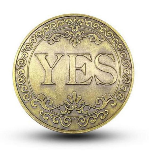 Yes/No Coin 3