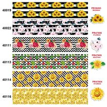 free shipping characters cartoon characters printed grosgrain ribbon 40019(China)