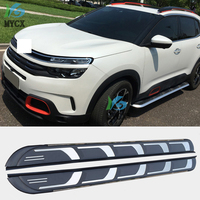 New Arrival Running Board Side Steps Side Bar Pedals For Citroen C5 AIRCROSS,Thicken Aluminum Alloy,Guarantee Quality,load 300kg
