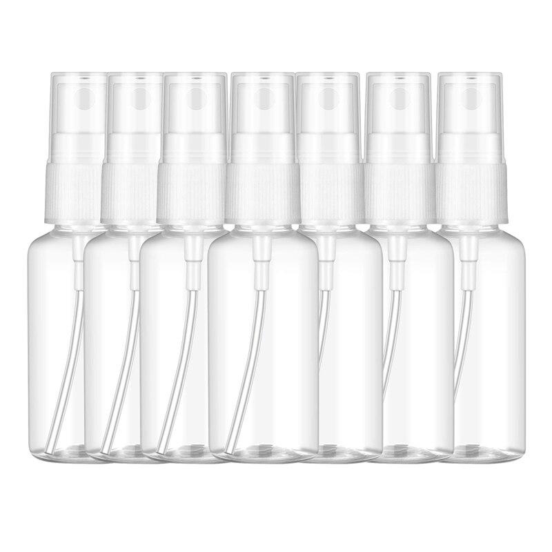 100PCS 100 Ml Transparent Kunststoff Parfüm Zerstäuber Kleine MIni Leere Spray Nachfüllbar Flasche