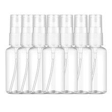 100PCS 100 Ml Transparent Plastic Perfume Atomizer Small MIni Empty Spray Refillable Bottle
