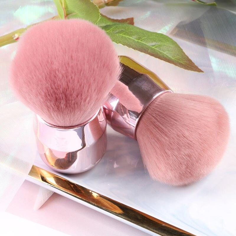 TSZS populaire rond petite fleur brosse ongles peinture Gel poussière brosses de nettoyage maquillage brosse Nail Art manucure outil