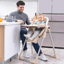 Folding high chair baby lunch feeding chairs belt portable breast feeding chair with wheels for feeding baby safety seat