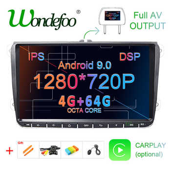 DSP Android 9.0 4G 64G Car GPS for Seat Altea Toledo VW Passat B6 CC GOLF 5 6 Polo Tiguan Touran radio Navigation NO DVD player - DISCOUNT ITEM  44 OFF Automobiles & Motorcycles
