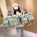 Новая дорожная сумка, ручной чемодан, спортивная сумка, водонепроницаемые спортивные сумки, сумка для фитнеса, йоги, тренажерного зала, вмес...