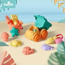 Мягкая силиконовая пляжная игрушка babygo для детей инструмент