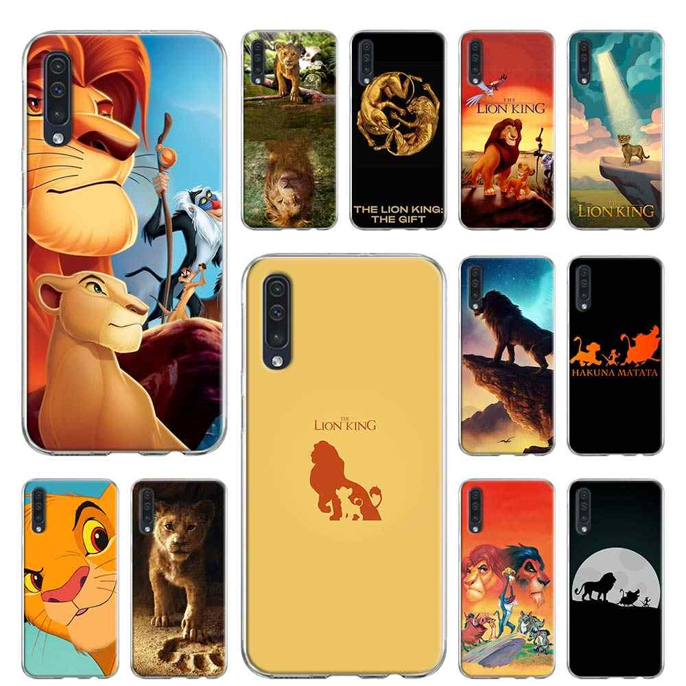 Soft case for Samsung Galaxy A10 A10e A20 A30 A30S A40 A50 A70 A60 A80 A6 A7 A8 A9 TPU Cover The Lion King