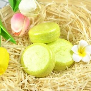 12 Colors Handmade Hair Shampoo Soap 100% Pure Plant Hair Shampoos Hair Conditioner Care Scalp Treatment TSLM1