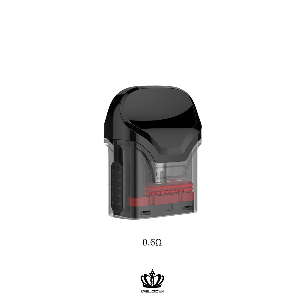 Image 2 - 5 Packs UWELL Crown Refillable Pod  3ml capacity suitable for  Crown Pod System Vape PodEletronic Cigarette Atomizer Cores   -
