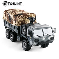 Eachine EAT01 1/16 2.4G 6WD RC Car Proportional Control US Army Military Truck RTR Vehicle Model
