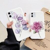 Custodia in TPU di lusso con fiore a foglia per Xiaomi Redmi Note 9 8T 8 Pro 9s 6 7 5 Plus Mi 10T 9T Poco X3 NFC A3 A2 8 9 10 Lite Coque