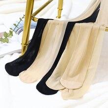 Huid En Zwarte Vrouwen Snoep Kleur Dunne Sexy 10D Slik Panty See Through Naadloze Panty Grote Elastische Lange Kousen WDC4681