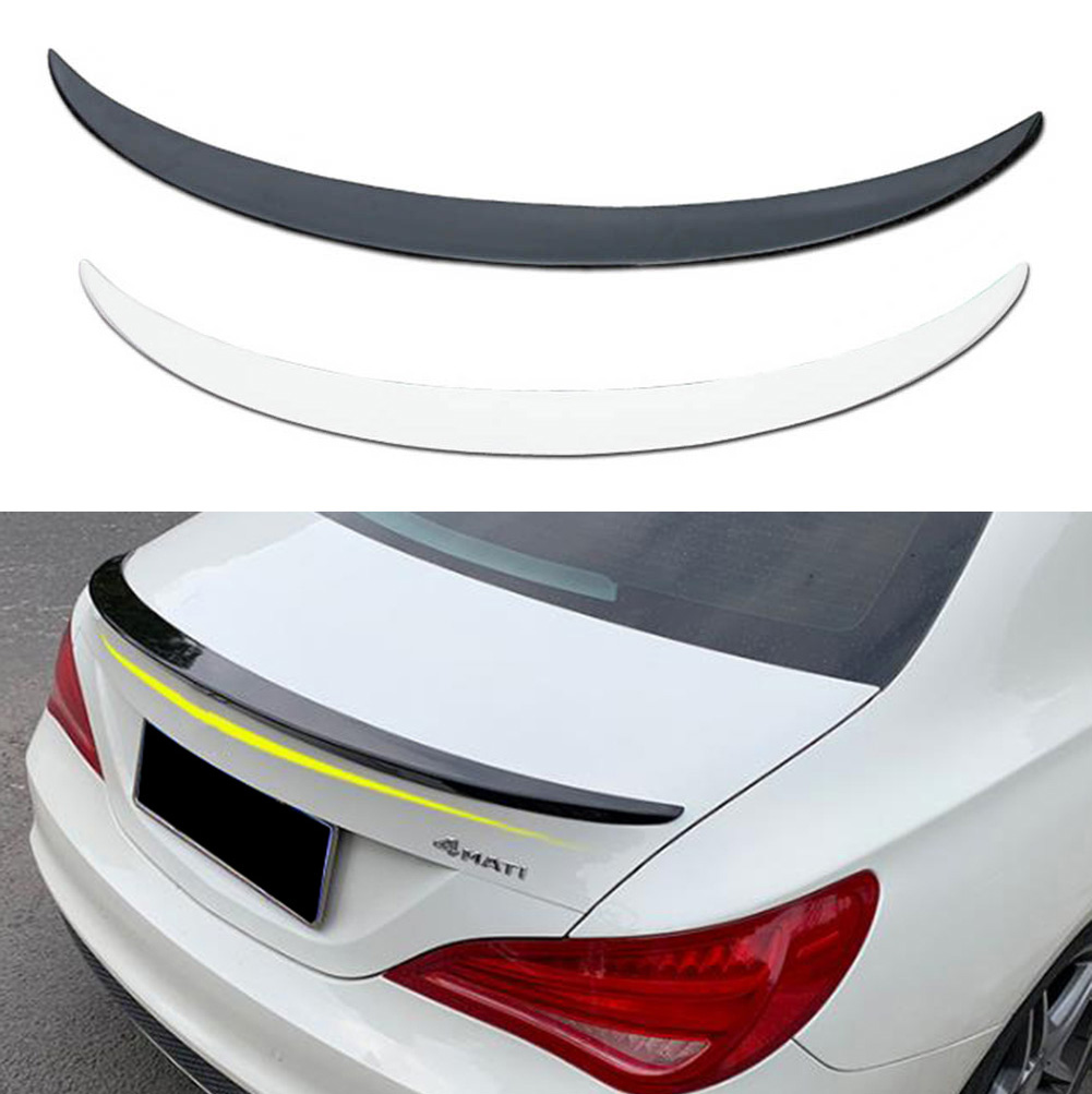 For Mercedes-Benz CLA Class W117 CLA180 <font><b>CLA200</b></font> CLA250 ABS Rear Trunk <font><b>Spoiler</b></font> Wing Lip 2013 2014 2015 2016 2017 2018 image