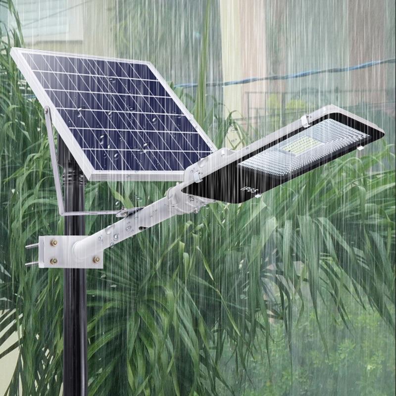 5PCS 100W Solar Flood Light Spotlight Solar Led Outdoor Lighting Garden Lights Waterproof Light Control With Remote Control