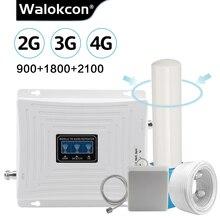 Çok yönlü anten 2g 3g 4g Tri Band sinyal güçlendirici GSM 900 1800 2100 GSM 3g LTE hücresel tekrarlayıcı GSM 4G LTE amplifikatör