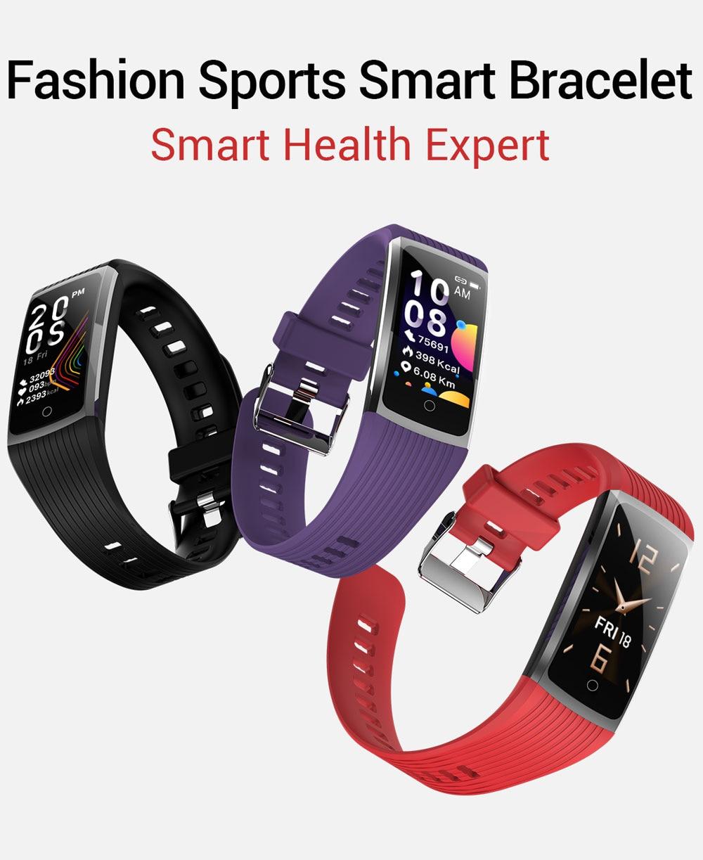 H11f00c0af7414886b5ec3db1f6178be7D 2020 Fitness Bracelet Blood Pressure Fitness Tracker Waterproof Smart Bracelet Heart Rate Smart Band Watch Wristband Men Women