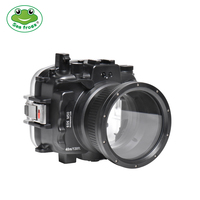 Waterproof Camera Bag Case For Canon EOS M50 40M Underwater Camera Housing For Diving Swimming With 18 55mm / 22mm Lens 1PC