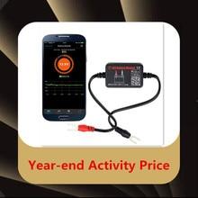 BM2 анализатор батареи тест er Bluetooth 12 В электрическая цепь тест на проворот коленвала для Android IOS диагностический инструмент автомобильный комплект