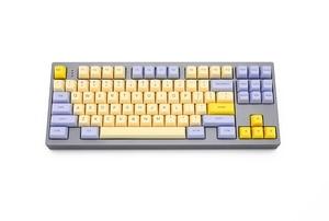 Image 2 - SA profile Dye Sub Keycap Set PBT plastic lily beige purple  for mechanical keyboard beige grey cyan gh60 xd64 xd84 xd96 87 104