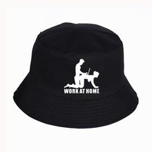 W obudził się w domu GEEK kapelusz z nadrukiem kobiety mężczyzna Panama kapelusz typu Bucket obudził się w domu GEEK LOGO Design płaski przeciwsłoneczny wędkarski kapelusz rybaka tanie tanio QUMEN COTTON Unisex Dla dorosłych Mieszkanie Wiadro kapelusze Na co dzień List