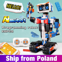 Idea intelligent programming robot Boost WALL E Toys Model Building set Self Locking Bricks Blocks Educational toys Christmas(China)