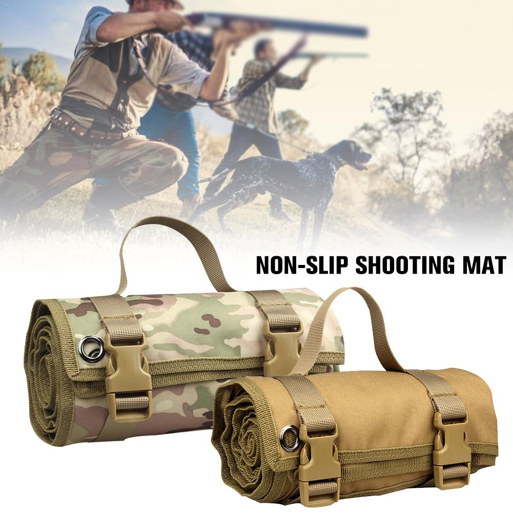 Roll Up Shooting Mat Outdoor Non slip Training Shooting Pad