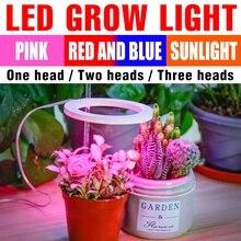 LED Plants Lamp Full Spectrum Grow Light UV Phytolamp Greenhouse Hydroponics LED Growing Light Bulb For Flower Seeds Seedlings