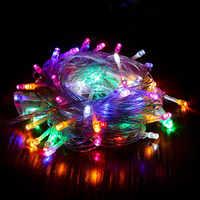 10m 20m 30m luz LED cadena árbol De Navidad decoraciones Navidad Año Nuevo 2020 decoración del hogar Adornos De navidad 2019 Natal