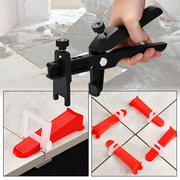 Tile Leveling System Leveler Clip Spacers Pliers Wall Tile Paving Locator Tool Floor Installation Tile Alignment Hand Tools  08
